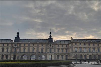 Louvre - Paris France - 01134 Poster by DC Photographer