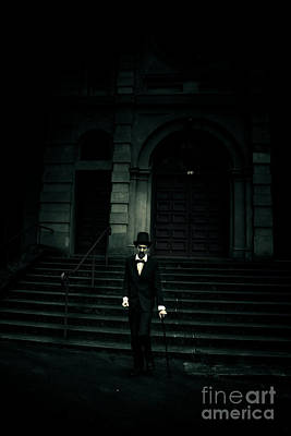 Lurking In The Shadows Of Darkness Poster by Jorgo Photography - Wall Art Gallery