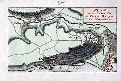 Maastricht Mosasaur, 1798 Poster by Paul D. Stewart