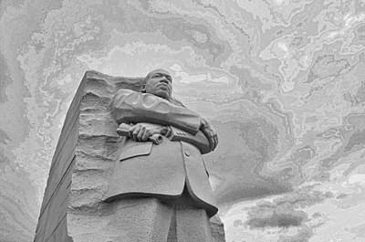 Martin Luther King Jr Memorial Poster by Allen Beatty