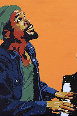 Marvin Gaye Poster by Rachel Natalie Rawlins