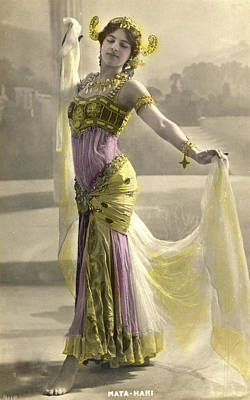 Mata Hari Poster by Collection Abecasis