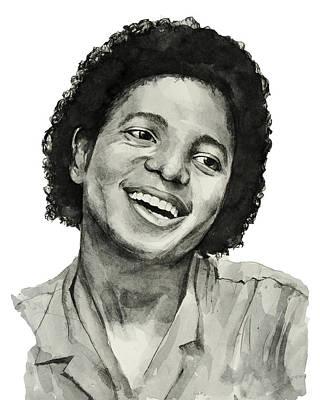 Michael Jackson 7 Poster by Bekim Art
