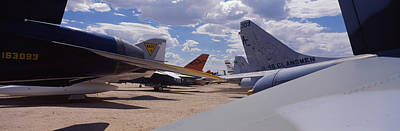 Military Airplanes At Davismonthan Air Poster by Panoramic Images