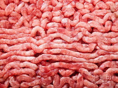 Minced Meat Poster by Sinisa Botas