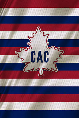 Montreal Canadiens Uniform Poster by Joe Hamilton