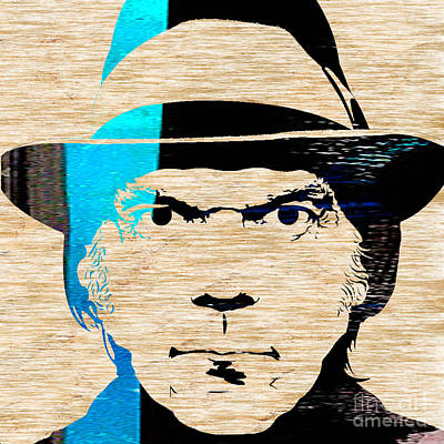Neil Young Poster by Marvin Blaine