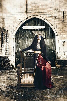 Netherworld Queen Stuck In Never Never Land Poster by Jorgo Photography - Wall Art Gallery