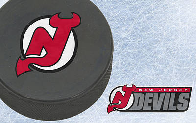New Jersey Devils Poster by Joe Hamilton