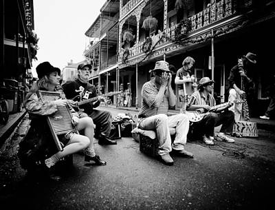 New Orleans Street Musicians Poster by Mountain Dreams