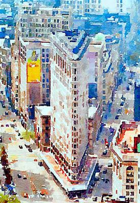 New York Streets Poster by Yury Malkov