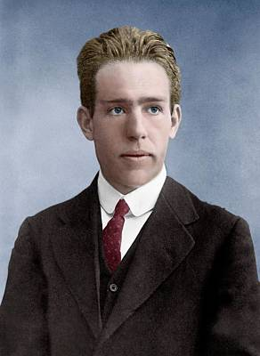 Niels Bohr Poster by Library Of Congress