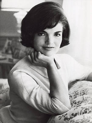 Official Photograph Of Jackie Poster by Underwood Archives