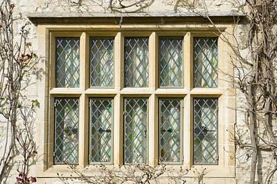 Old Window Poster by Tom Gowanlock
