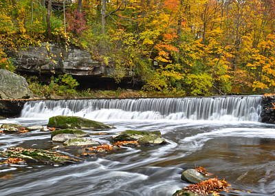 Olmstead Falls Ohio Poster by Frozen in Time Fine Art Photography