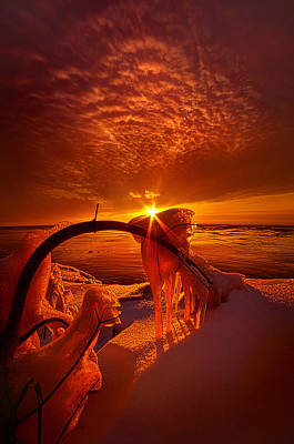 Only A Moment Poster by Phil Koch