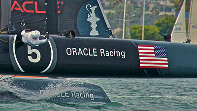 Oracle Racing Poster by Steven Lapkin