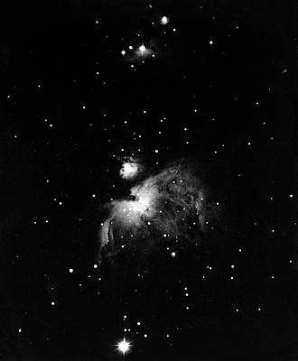 Orion Nebula, 19th Century Poster by Science Photo Library