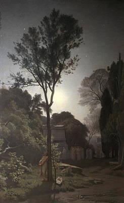 Orpheus Poster by Francois Louis Francais