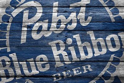 Pabst Blue Ribbon Poster by Joe Hamilton