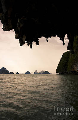 Panak Island Caves Poster by Jorgo Photography - Wall Art Gallery