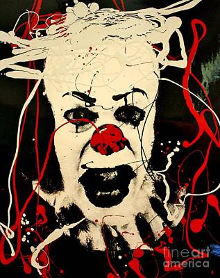 Pennywise The Dancing Clown Poster by Michael Kulick