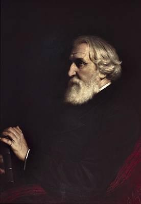 Perov, Vasily 1833-1882. Portrait Poster by Everett