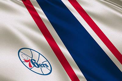 Philadelphia 76ers Uniform Poster by Joe Hamilton