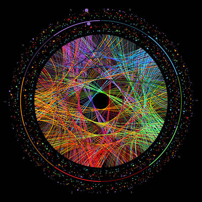Pi Transition Paths Poster by Martin Krzywinski