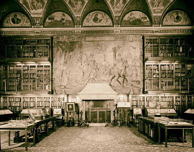 Pierpont Morgan Library - Nyc 1963 Poster by Mountain Dreams