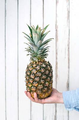 Pineapple Poster by Viktor Pravdica