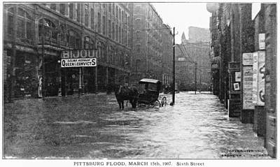 Pittsburgh Flood, 1907 Poster by Granger