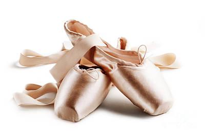 Pointe Shoes Poster by Jelena Jovanovic