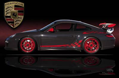 Porsche Gt3 Rs Poster by Kurt Golgart