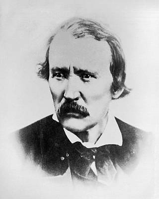 Portrait Of Kit Carson Poster by Underwood Archives