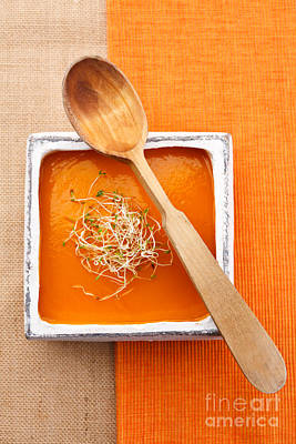 Pumpkin Soup Poster by Elisabeth Coelfen