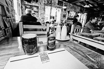 quilmes stout at irish pub and restaurant Ushuaia Argentina Poster by Joe Fox