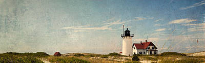 Race Point Light Poster by Bill Wakeley