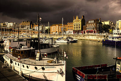 Ramsgate Harbour Poster by Ian Hufton