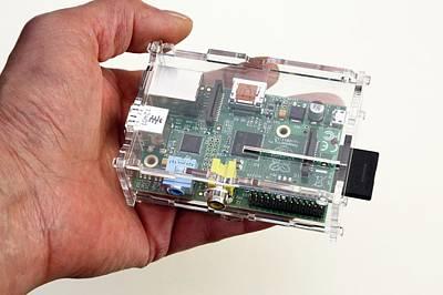Raspberry Pi Micro-computer Poster by Victor De Schwanberg