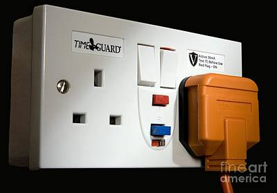 Rcd Protected Switched Sockets Poster by Sheila Terry
