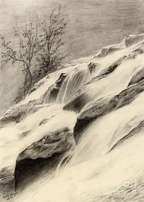 River Stream Poster by Hailey E Herrera