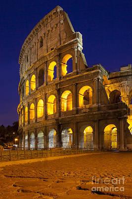 Roman Coliseum Poster by Brian Jannsen
