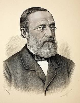 Rudolf Virchow Poster by Paul D Stewart