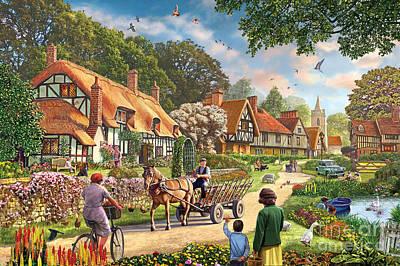Rural Life Poster by Steve Crisp