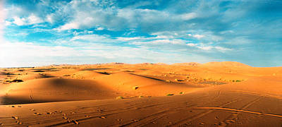 Sahara Desert Landscape, Morocco Poster by Panoramic Images