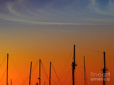 Sailing Boats Poster by Stelios Kleanthous