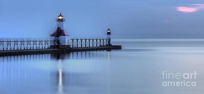 Saint Joseph Michigan Lighthouse Poster by Twenty Two North Photography