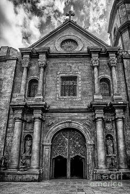 San Agustin Church  Poster by Adrian Evans