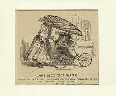 Satirical Cartoon Poster by New York Public Library